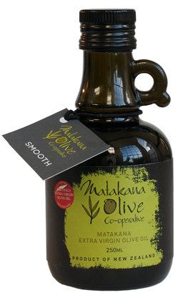 Matakana Extra Virgin Olive Oil  250 ml SMOOTH