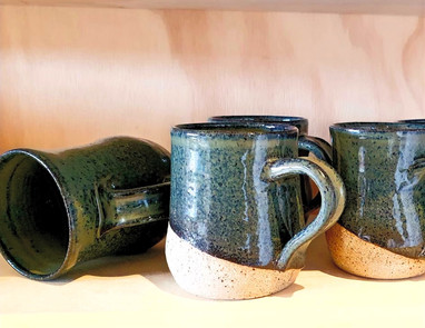 Green Blue cups