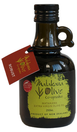 Matakana Extra Virgin Olive Oil 250ml ROBUST