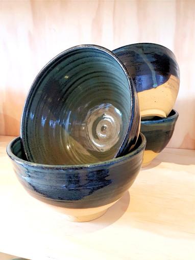 Green/Blue Noodles Bowls