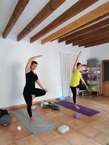 Formación de yoga vinyasa flow y coaching para profesores de yoga en mallorca