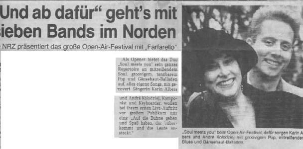 soul meets you Artikel in der NRW