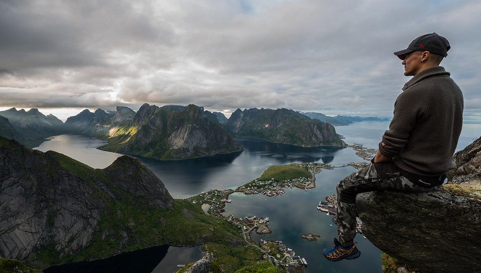 Om meg - Øyvind Buljo, reinebringen Lofoten