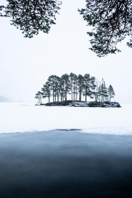 Vinter ved Ånøya