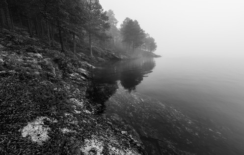 Tåke ved Ånøya