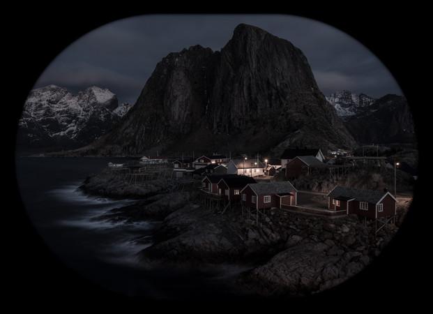 Natt på Hamnøy
