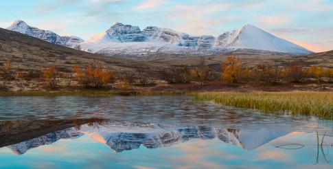 Kald morgen på fjellet