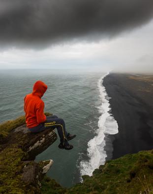 Utsikt fra Dyrhólaey