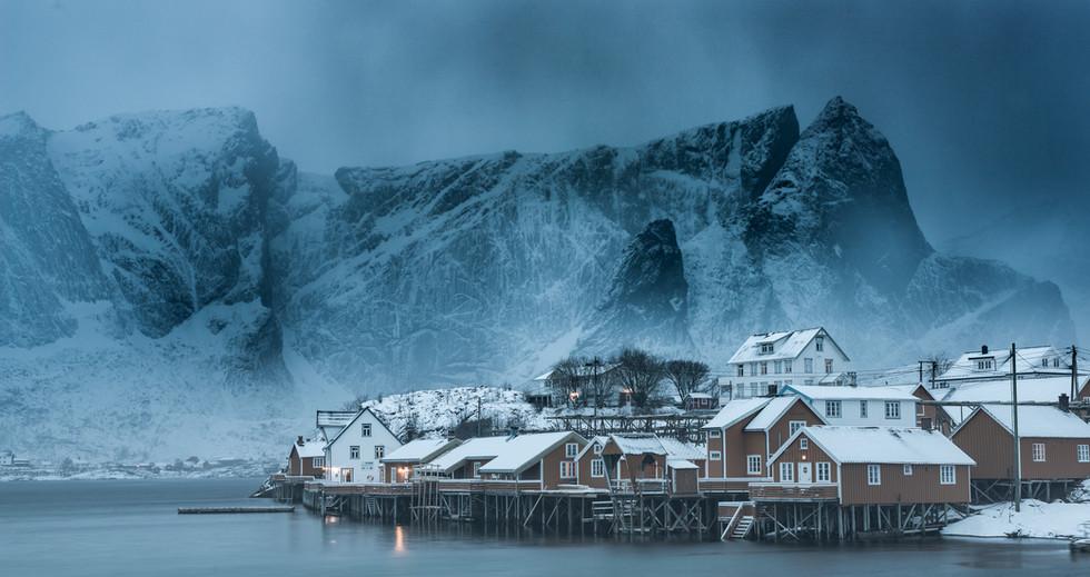 Vinter på fiskeværet