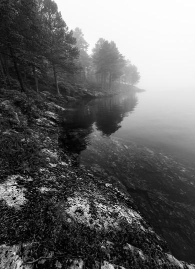 Tåkemorgen ved Ånøya