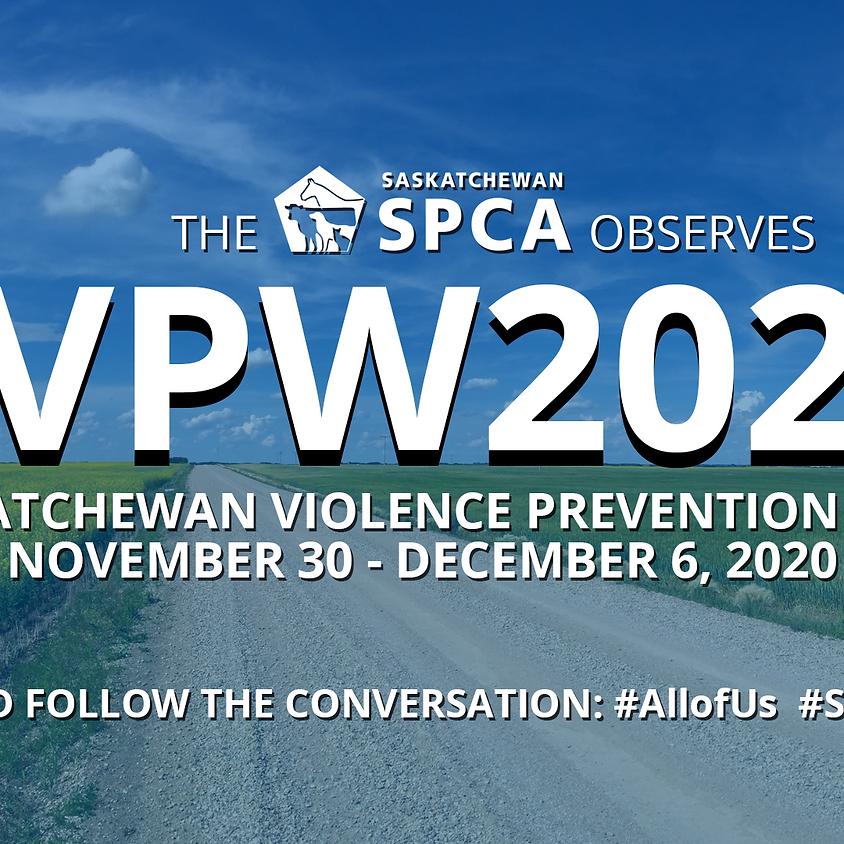 Saskatchewan Violence Prevention Week