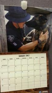 K-9 Calendar Makes a Great Gift