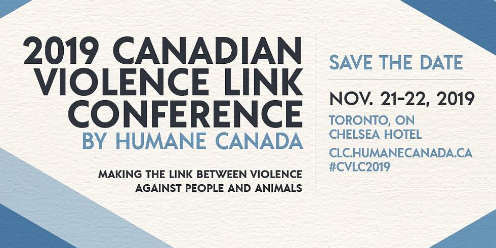 2019 Canadian Violence Link Conference