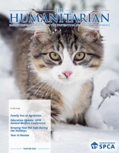 The Humanitarian: Winter 2017
