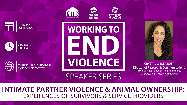 Webinar: Intimate Partner Violence & Animal Ownership