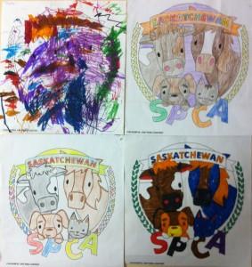 Saskatchewan SPCA Colourful Critters Contest Winners!