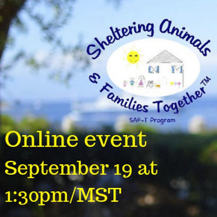 Webinar: Sheltering Animals & Families Together