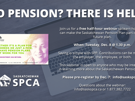 Webinar: Learn about the Saskatchewan Pension Plan