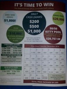 2014 winter lottery
