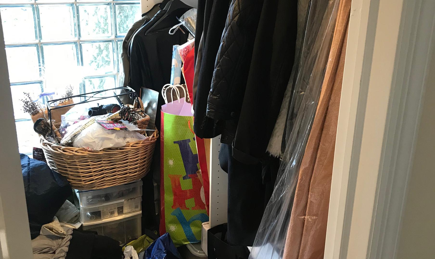 Utility Closet - Before