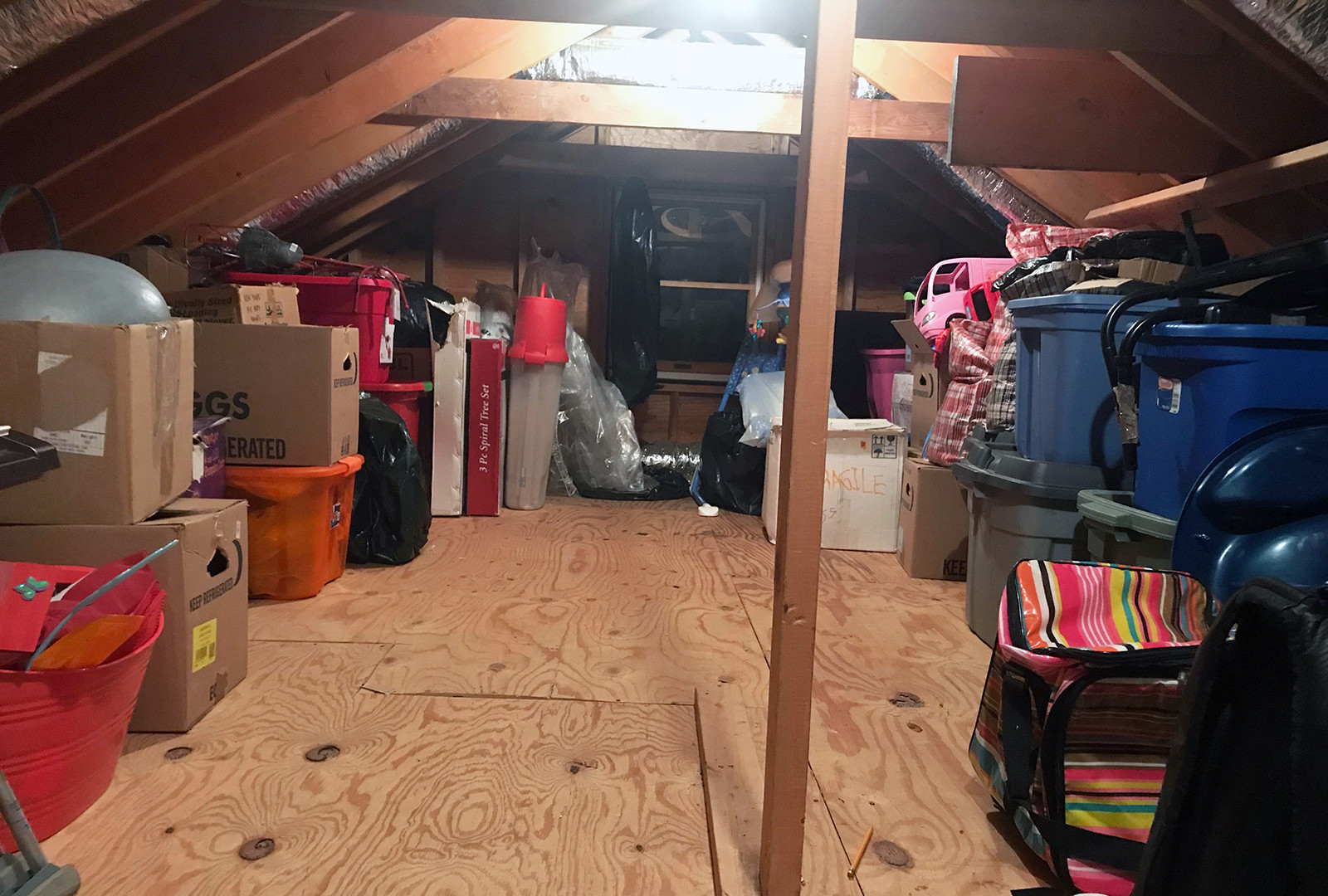Attic - After