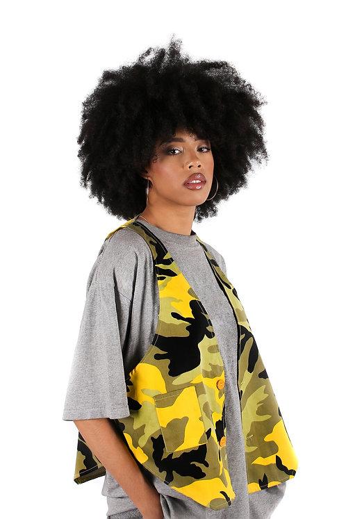 'Saffron Camo Vest