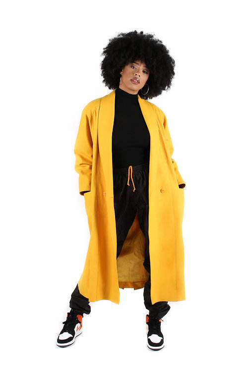 'Personage' Longline Coat