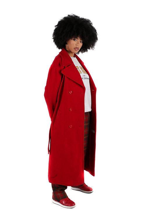 'Arterial' Longline Coat