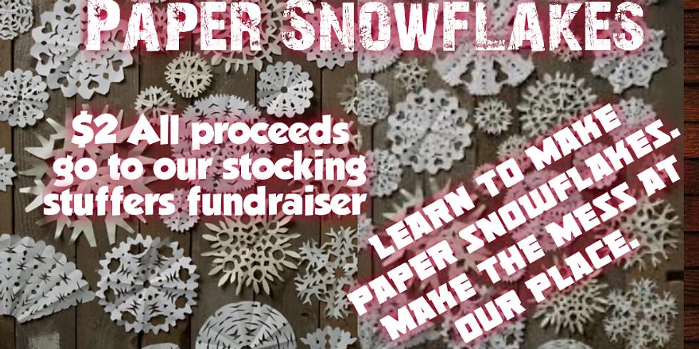 Paper Snowflakes Workshop