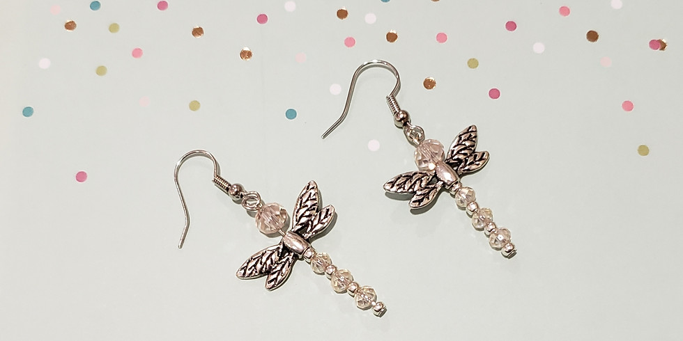 Dragonfly Earring or Necklace Workshop