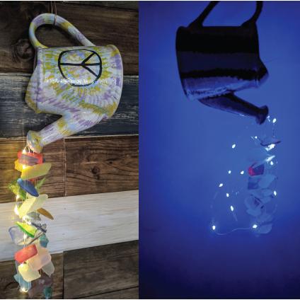 FOP Lodge 34 Your Choice Tumbled Sea Glass Windchimes Fundraiser