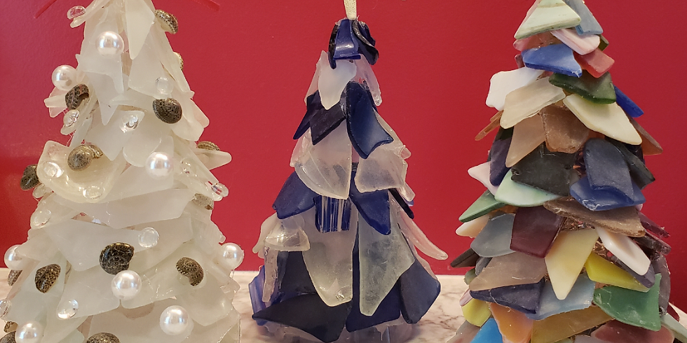SOLD OUT. MD Beach Glass Tree Workshop