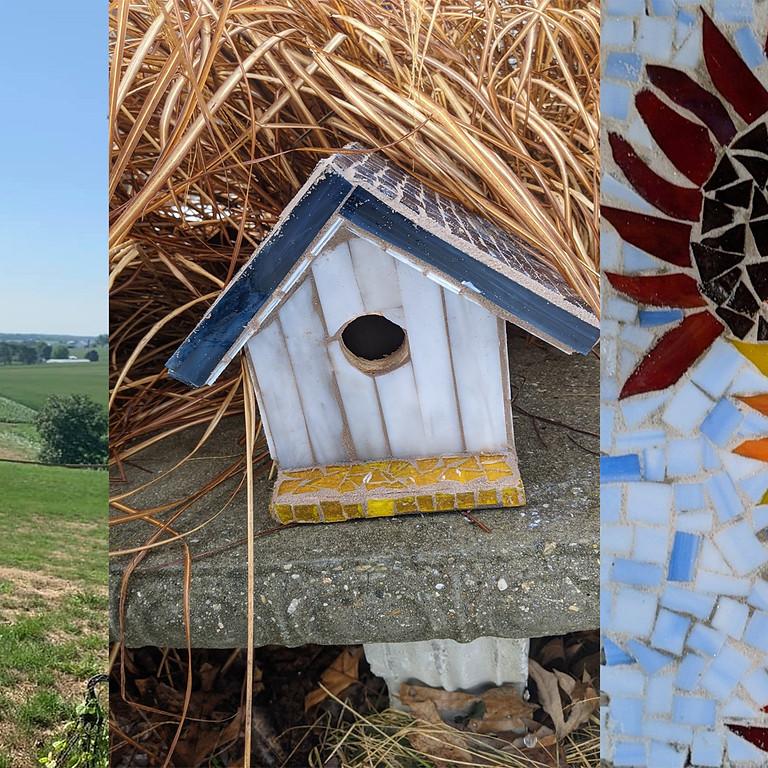 Bellefonte - Garden Day (Stepping Stone,  Birdhouse or Windchime)