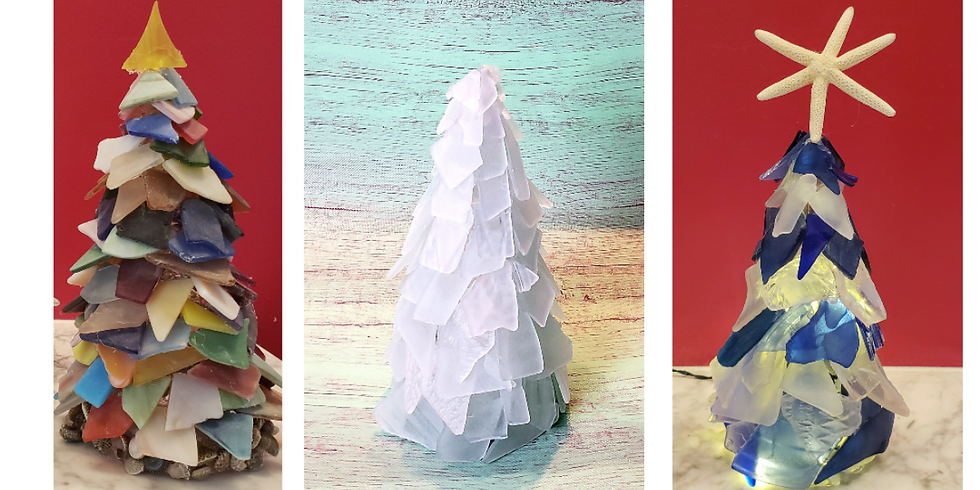 SOLD OUT - Online Sea Glass Tree Class- Free Shipping!
