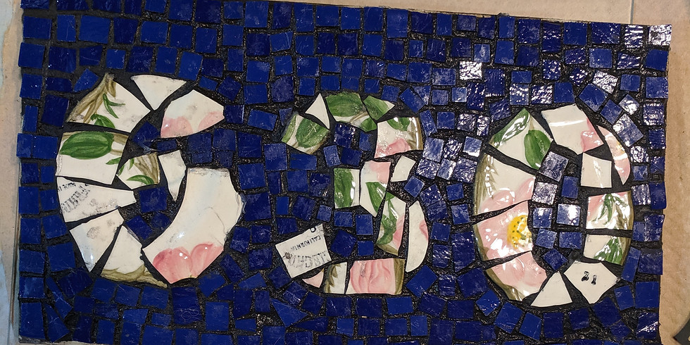 Mosaic House Numbers - Missy