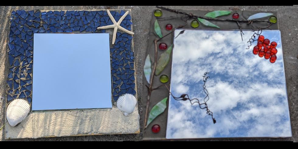 Mosaic Mirror OR Mosaic Tea Cups
