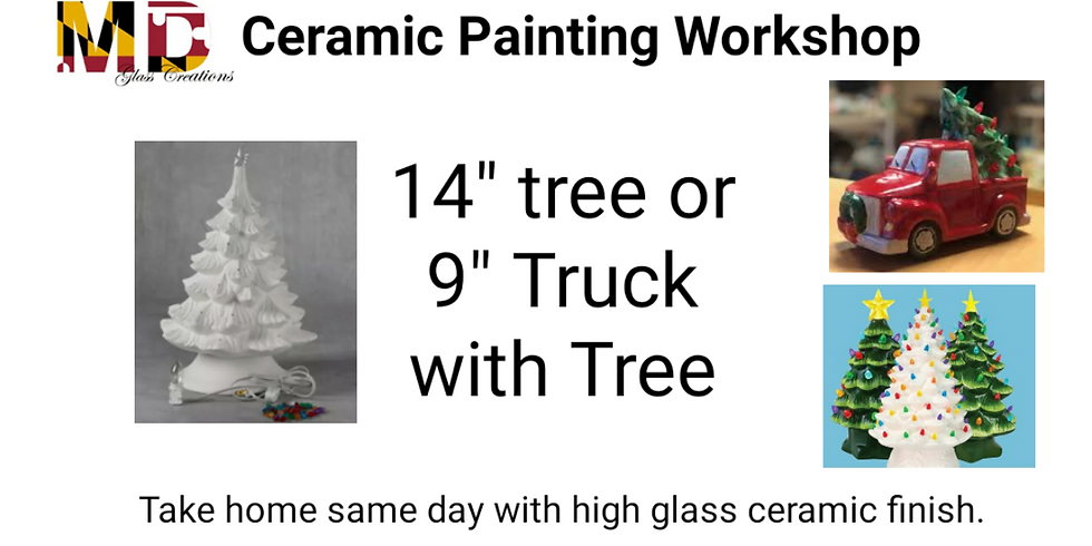 Paint your own Truck or Tree