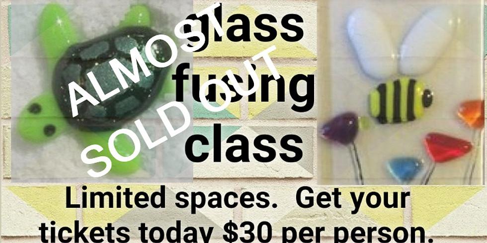 Glass Fusing Pendants Class