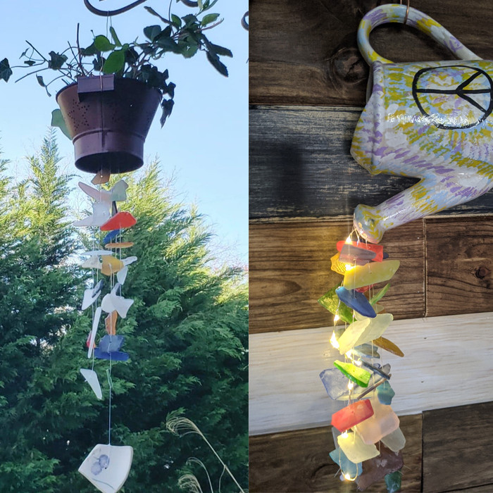 Dundalk - Rustic Wind Chimes (Your Choice of One)