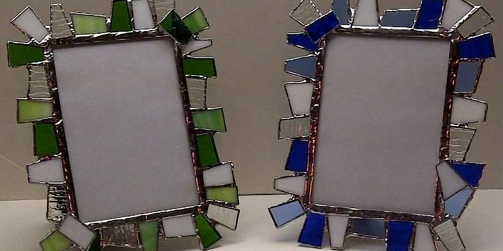 Stained Glass Chunky Frame 5x7