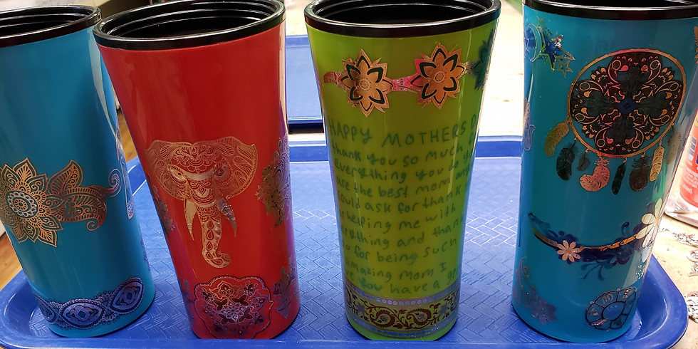 Customized Tumblers 2 for $25