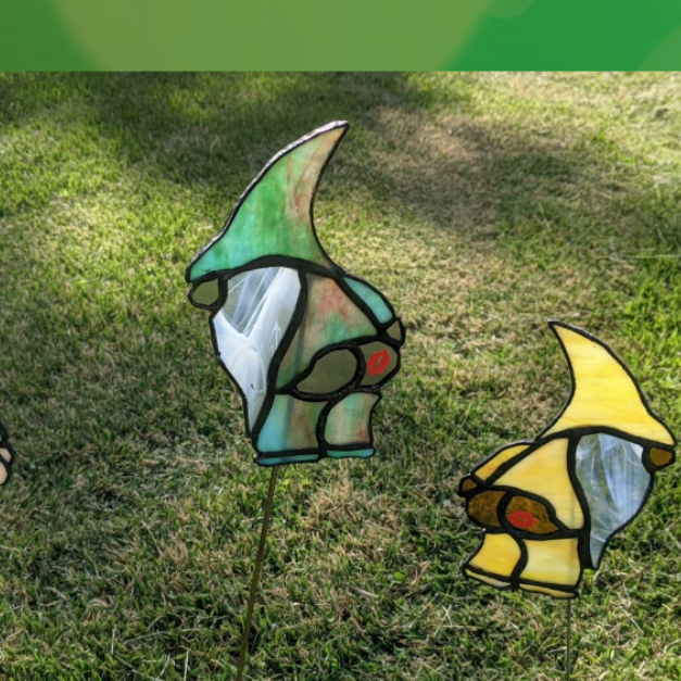 Mooning Gnome Stained Glass Workshop - Optimist Club
