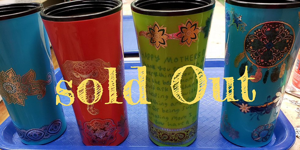 2 for $25 make your own 16oz tumblers