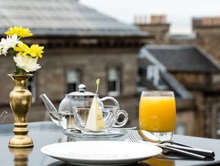 Breakfast in Edinburgh