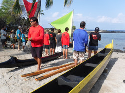 Kaloko launch park canoe makahiki 013
