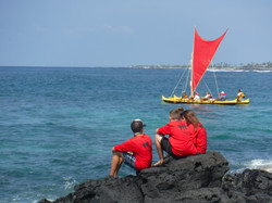 Kaloko launch park canoe makahiki 083