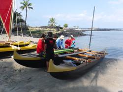 Kaloko launch park canoe makahiki 007