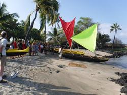 Kaloko launch park canoe makahiki 015