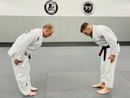 Jiu-Jitsu is a Martial Art full of Traditions