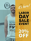 Enjoy 20% OFF of selected items thisMonday on LaborDay training at Double Five Dallas.